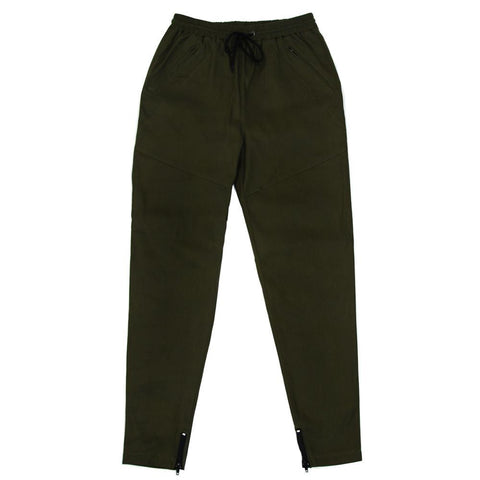 Twill Trackers - Olive