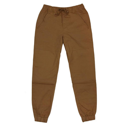 Fremont Twill Joggers - Brown