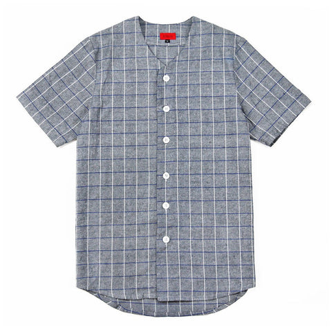 Bowery Baseball Top - Grey