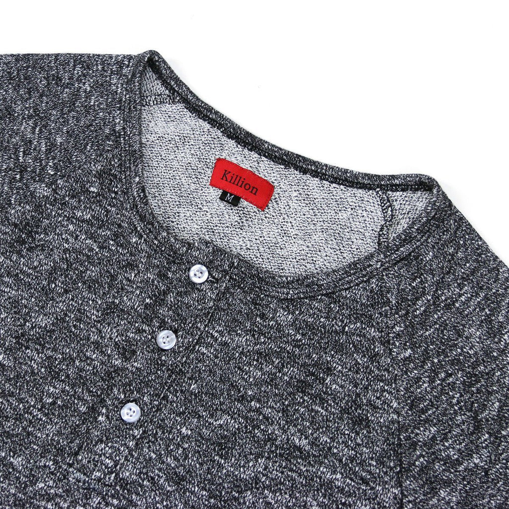 French Terry Scoop Henley