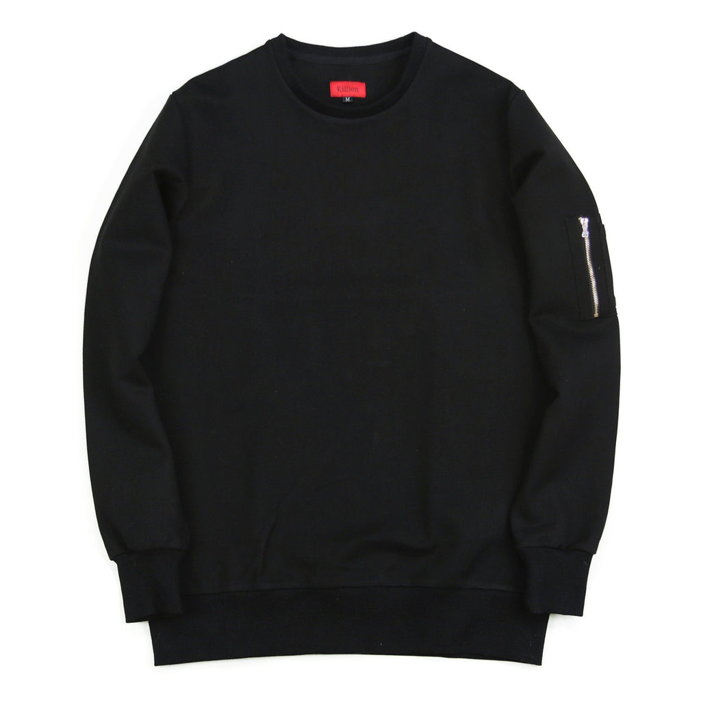 Norfolk Tech MA-1 Crewneck - Black