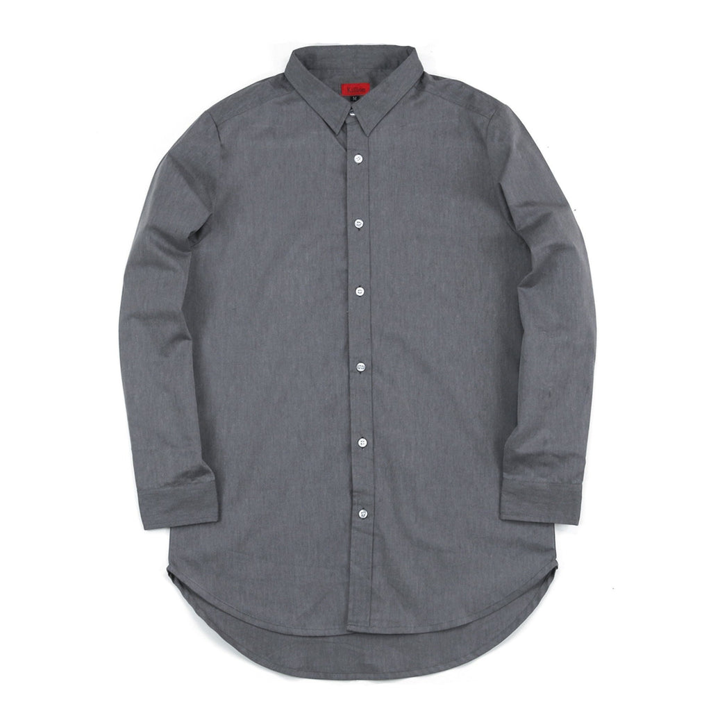 Eldridge Oxford Buttonup - Grey
