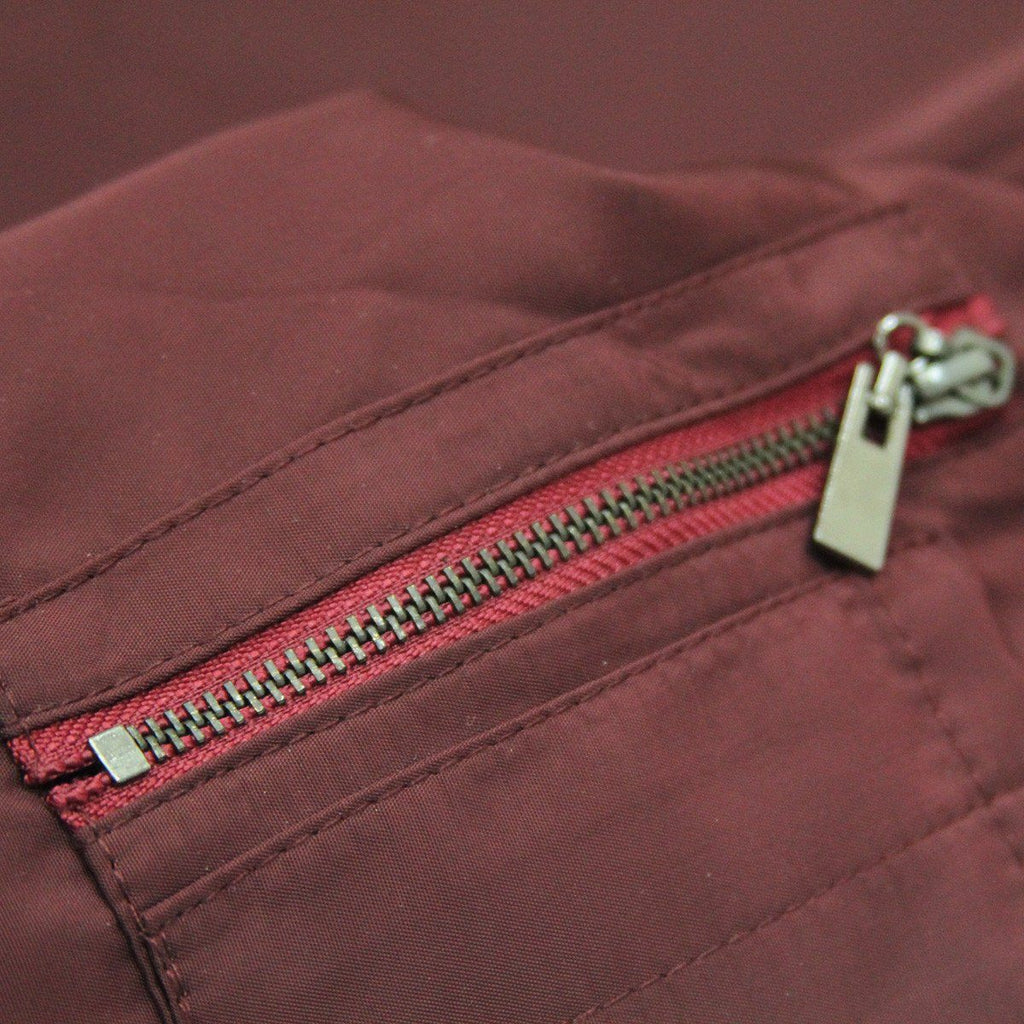 Standard Issue MA-1 Bomber Jacket - Wine Red