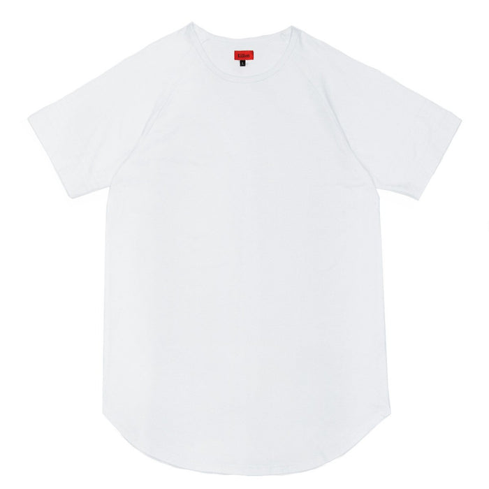 Scoop Extended Shirt - White