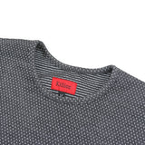 Macrodot Dropped Shoulder LS - Charcoal
