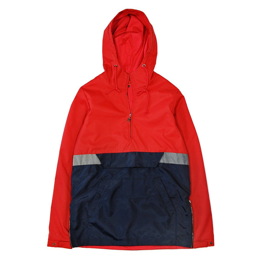 Easton Windbreaker Anorak - Red