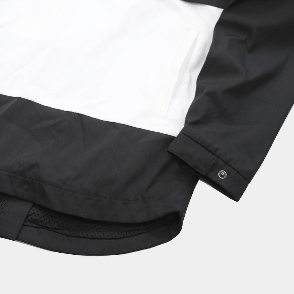 Composite Anorak - Black/White