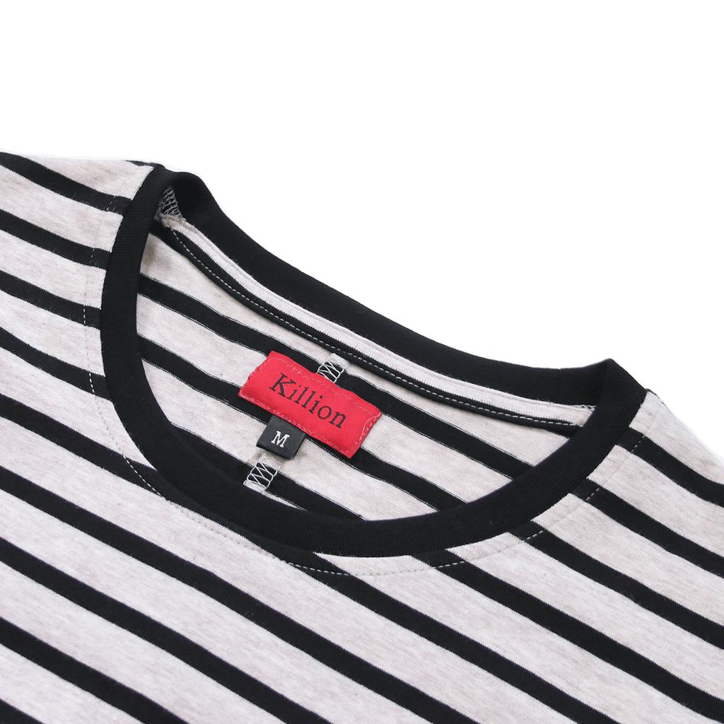 Mulberry Striped Scalloped Shirt - Cream/Black (05.12.20 Release)