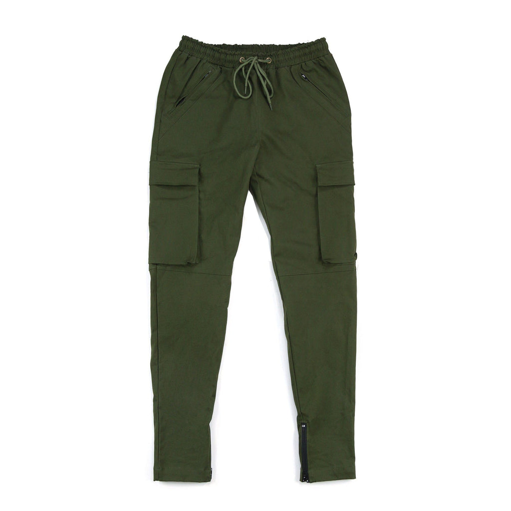 Cargo Twill Trackers - Olive (Preorder)
