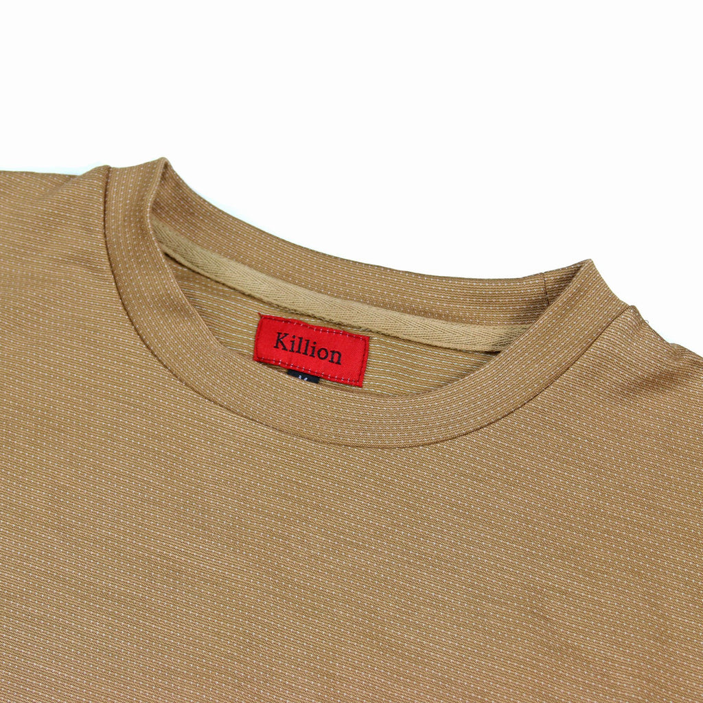 Microdot Long Sleeve - Sand