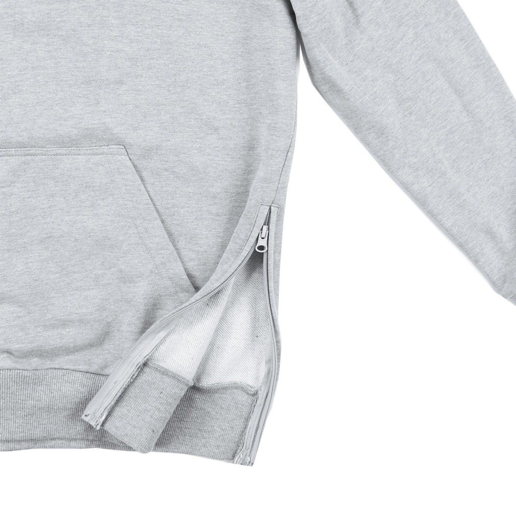 Quarter Zip Standard Hoody 2.0 - Heather Grey