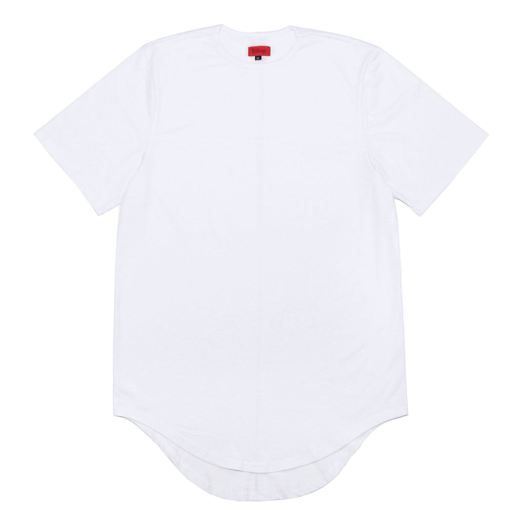 Scalloped SS Essential 2.0 - White