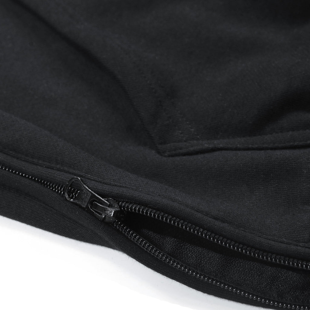 Quarter Zip Standard Hoody 2.0 - Black