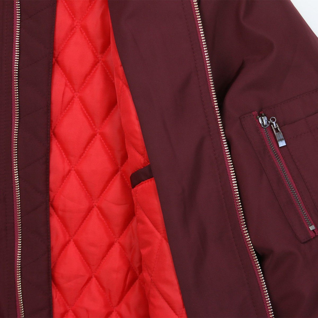 Standard Issue MA-1 Bomber Jacket - Wine Red (sold out)