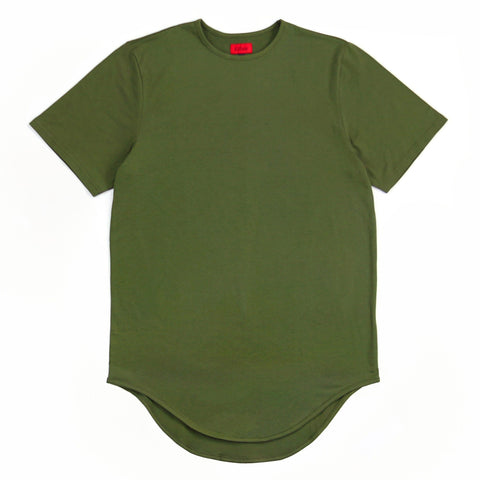 Scalloped SS - Olive