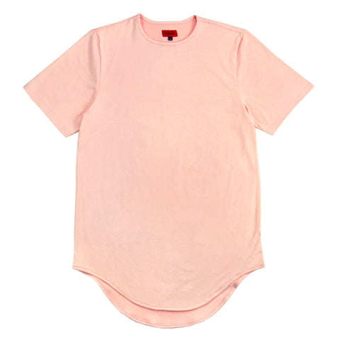 Scalloped SS - Peach