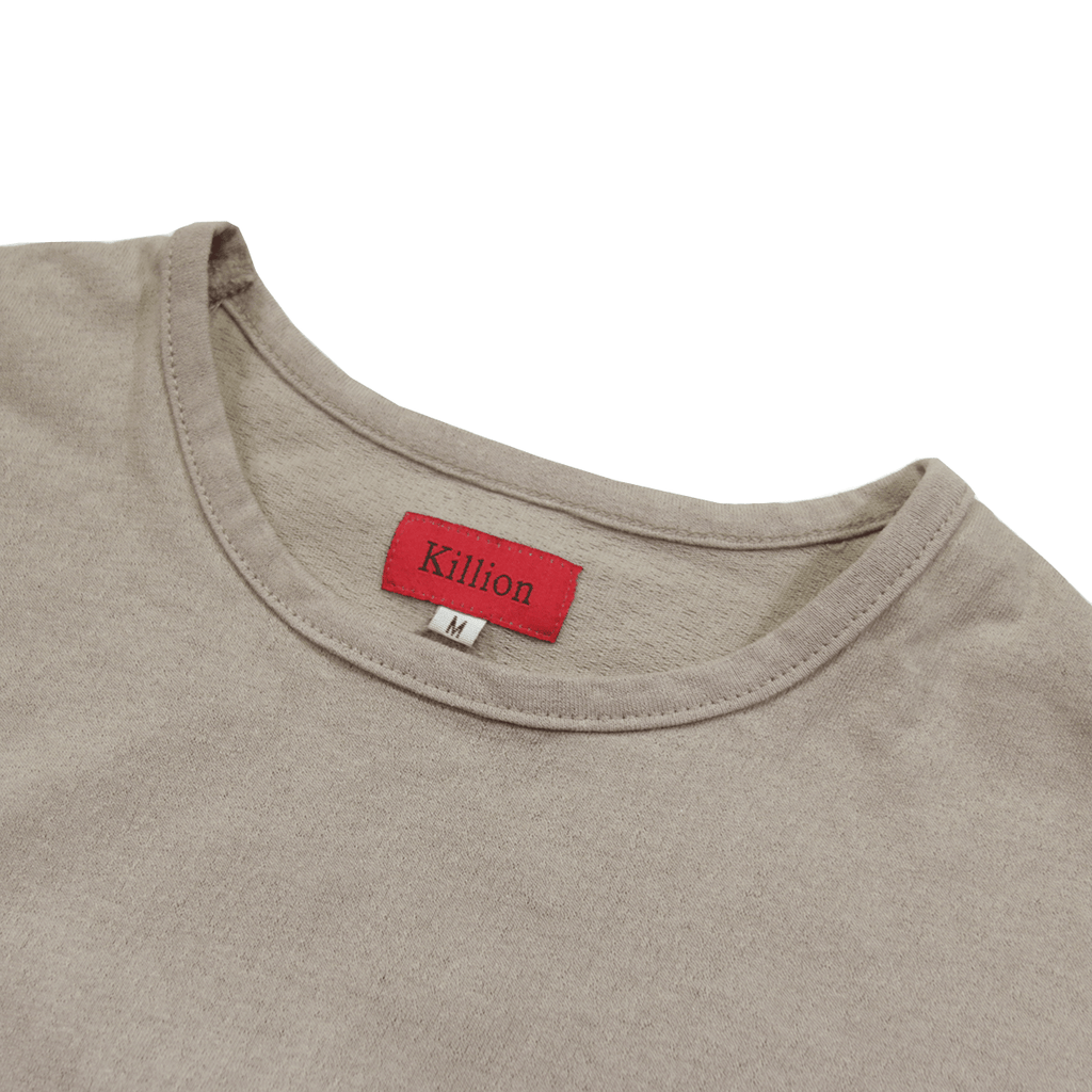 Slub Washed Box Tee - Sand
