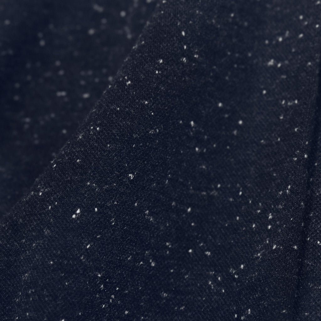 Speckle Dropped Shoulder SS - Navy