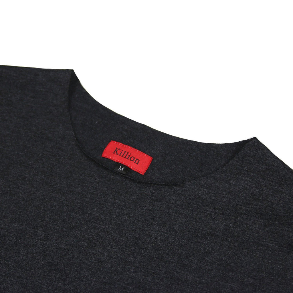 Raw Essential Long Sleeve - Charcoal