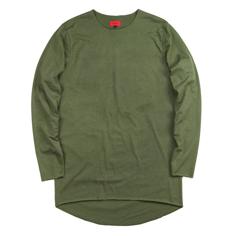 Raw Essential Long Sleeve - Olive