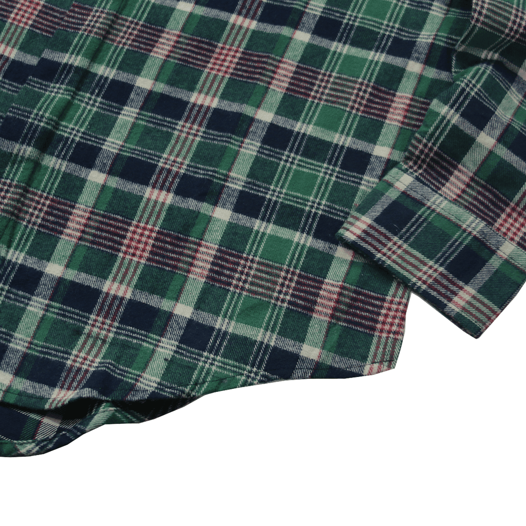Winslow Flannel LS Buttonup - Forest Green
