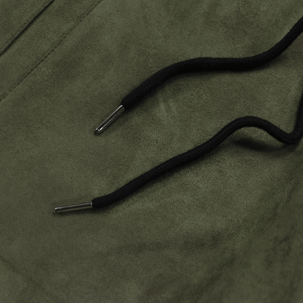 Suede Butter Shorts - Olive (04.18 Release)