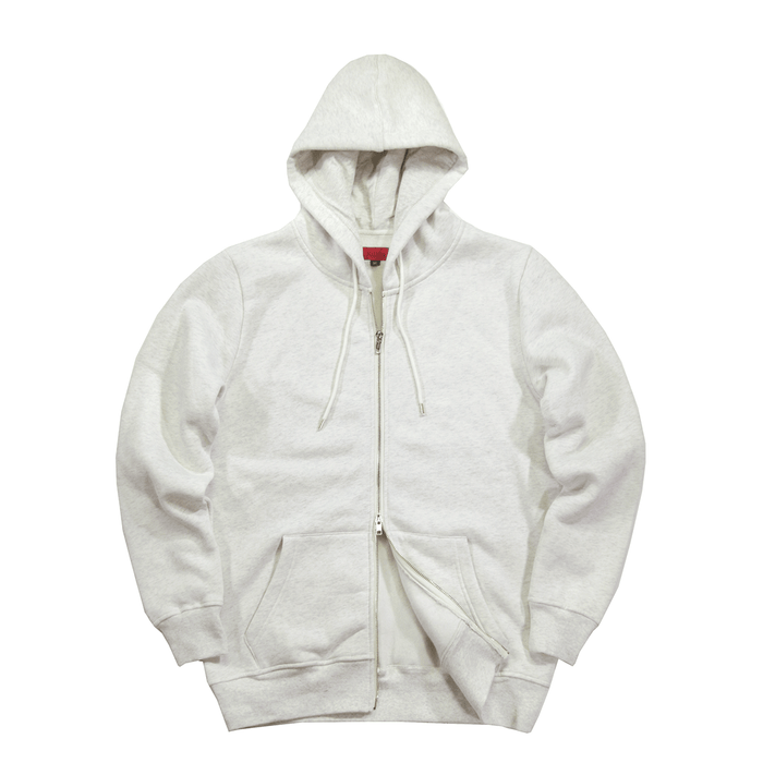 SI Full Zip Hoodie - Heather Cream (11.26.20 Release)