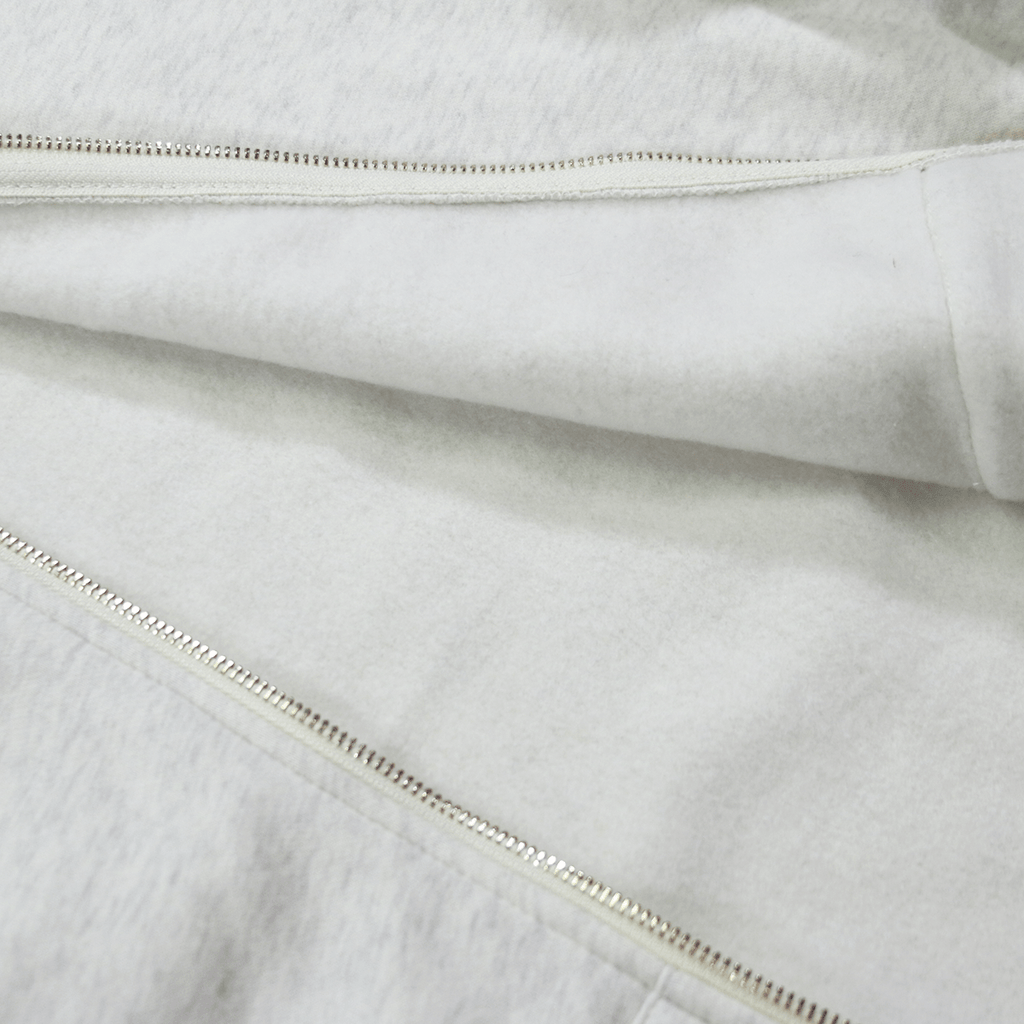SI Full Zip Hoodie - Heather Cream