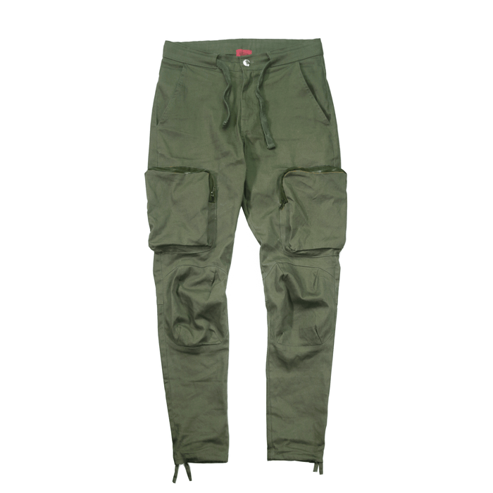 Cargo Twill Trekker Pant - Light Olive