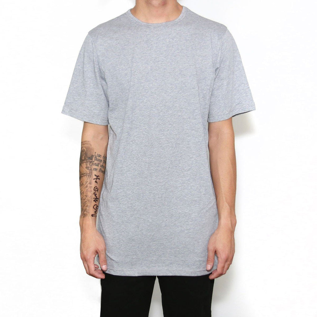 (B-15) Flat Line Basic Essential - Heather Grey