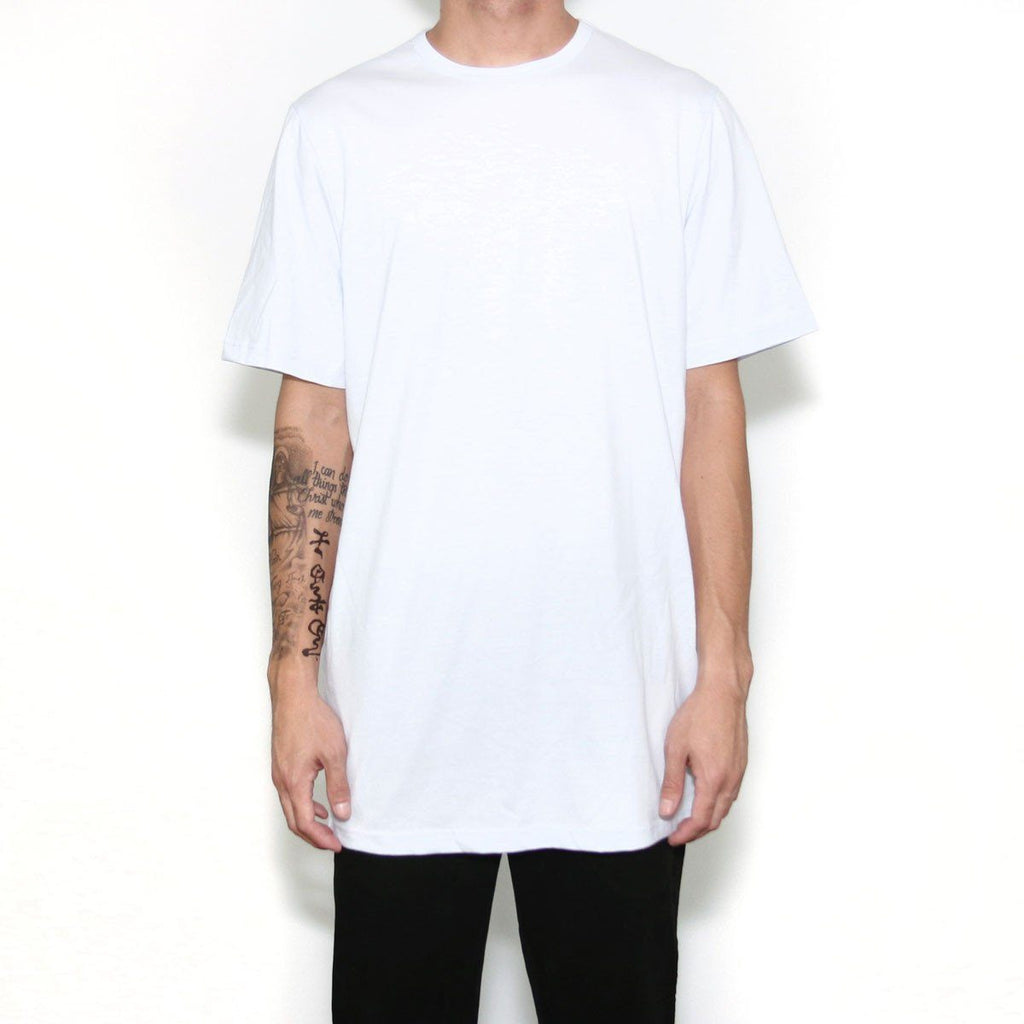 (B-15) Flat Line Basic Essential - White