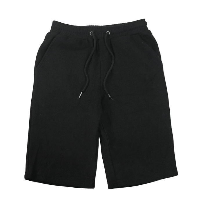 Reverse Terry Shorts - Black
