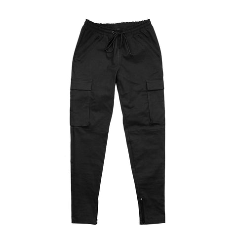 Cargo Twill Trackers - Black (Preorder)