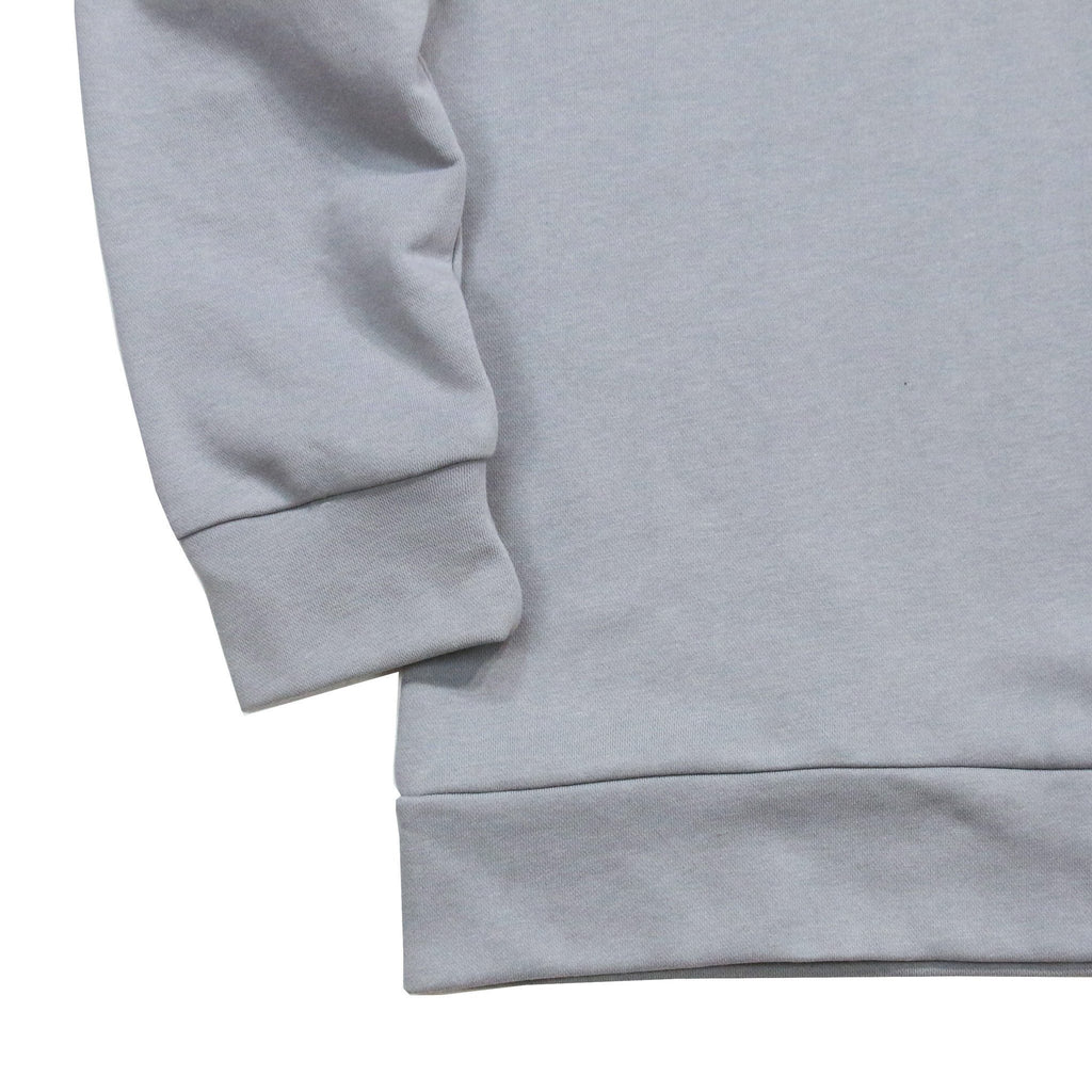 Draped Sweatshirt - Cement