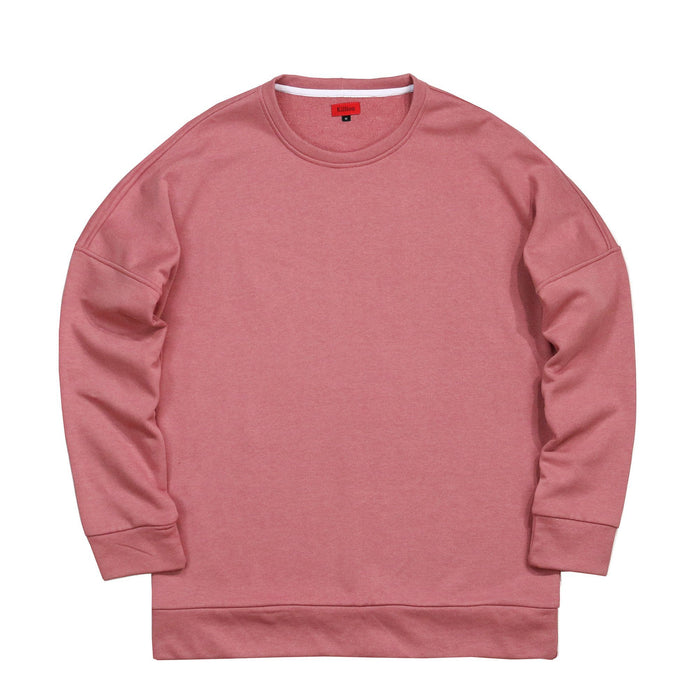 Draped Sweatshirt - Peach