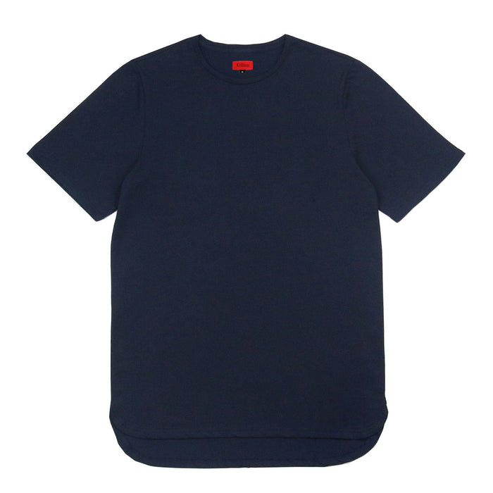 Half Scoop Hem SS Essential - Navy