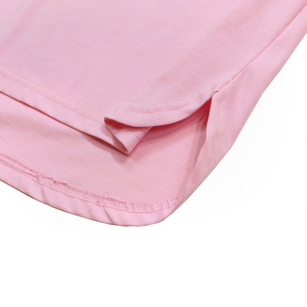 Half Scoop Hem SS Essential - Peach (01.26.21 Release)