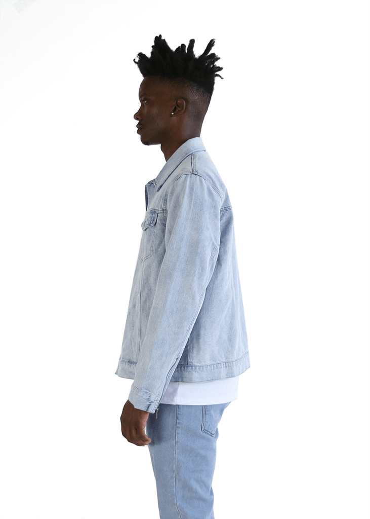 SI Denim Jacket - Bleach Blue