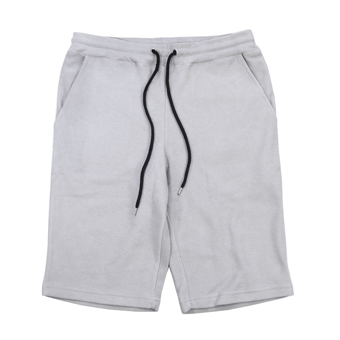 Reverse Terry Shorts - Light Grey