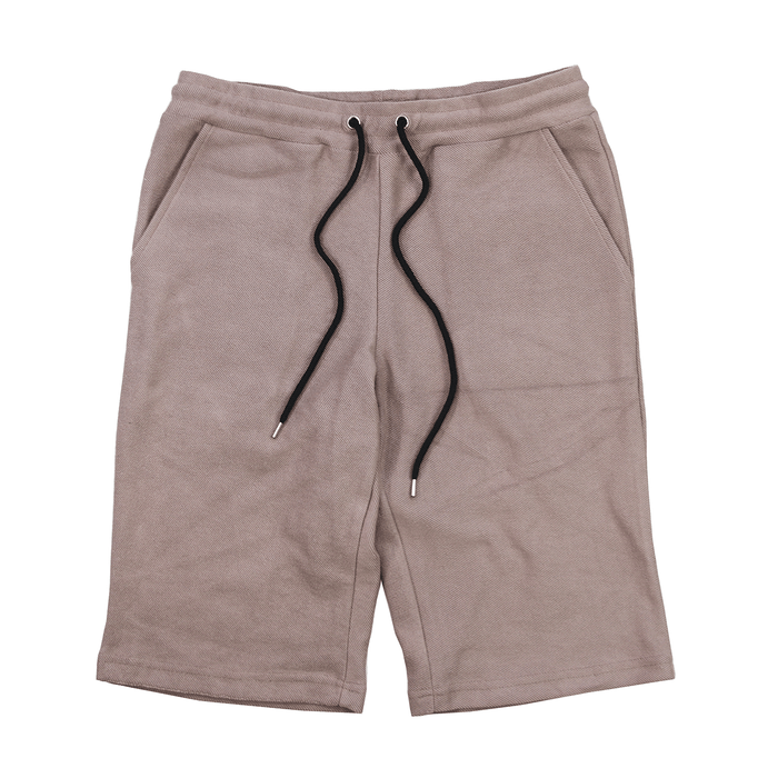 Reverse Terry Shorts - Stone