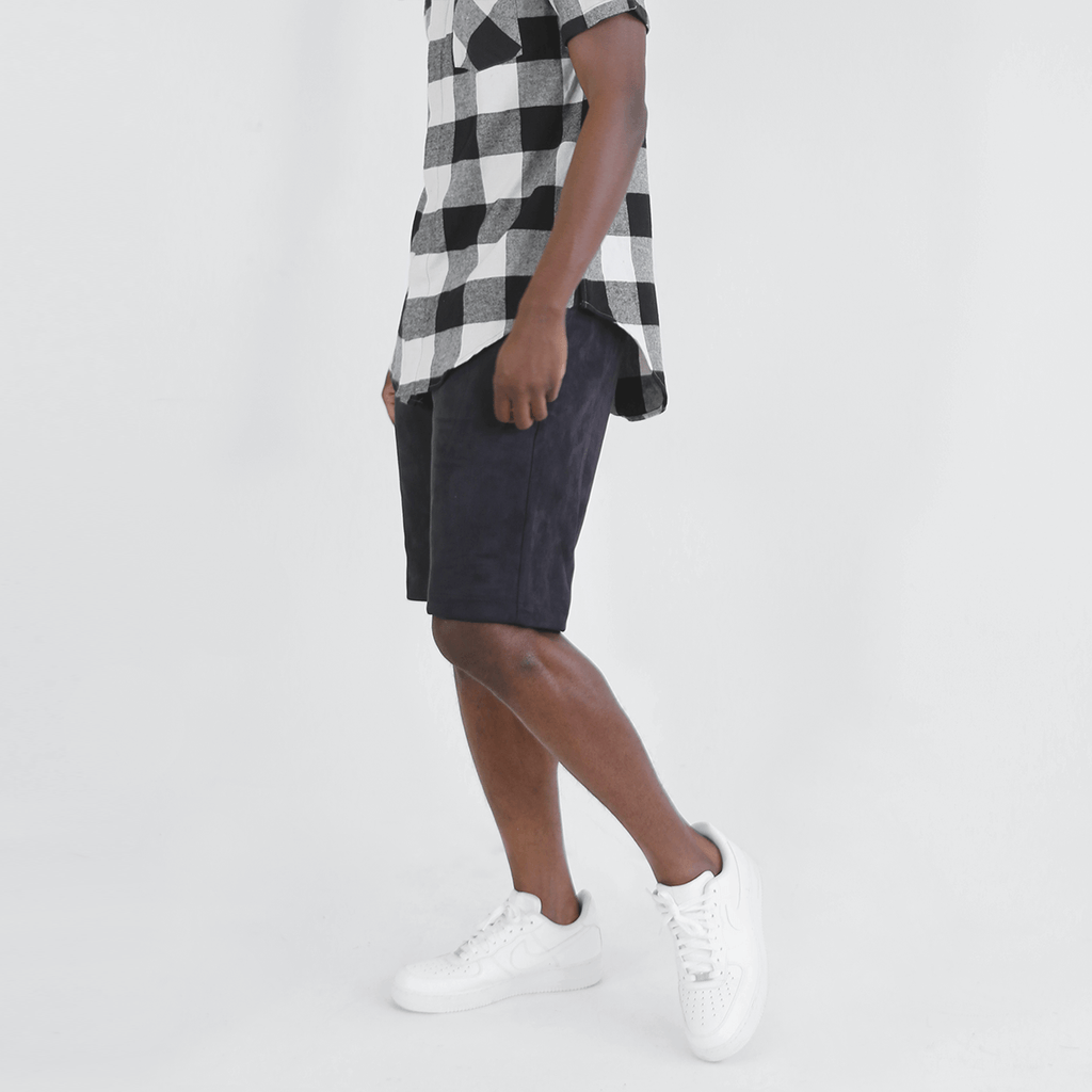 Suede Butter Shorts - Black (03.23.21 Release)