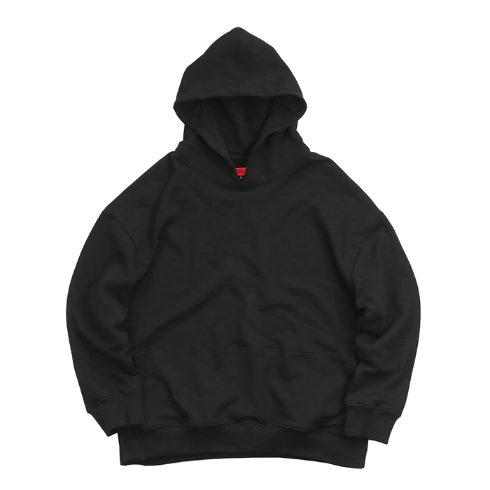 Oversized Side Cut Hoodie - Black (03.24.20 Release)