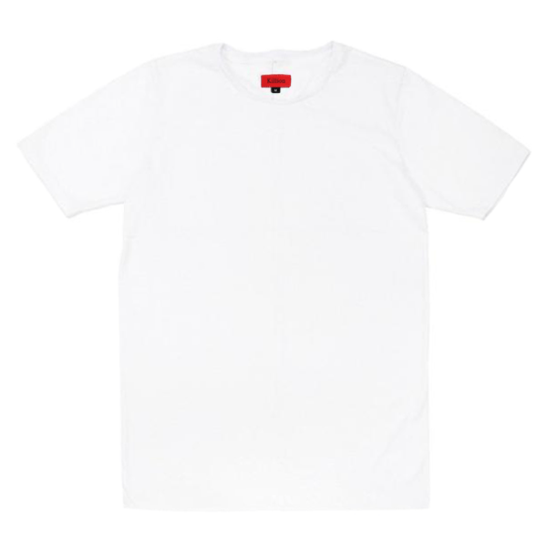 Standard Issue SI-12 Essential Flat-Hem - White