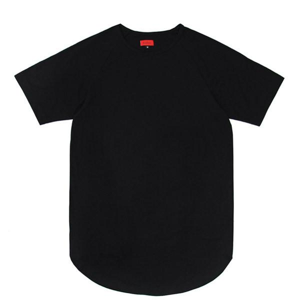 Scoop Extended Shirt - Black