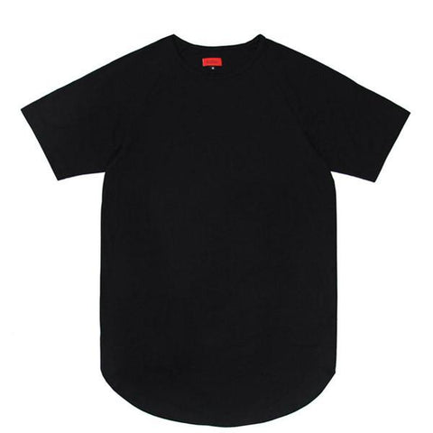 Standard Issue Scoop Extended Shirt - Black (preorder - archive)