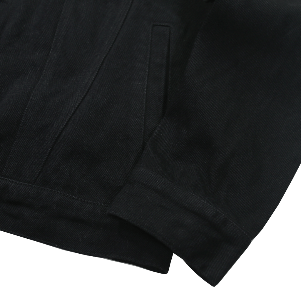 Classic 13oz Denim Jacket - Black