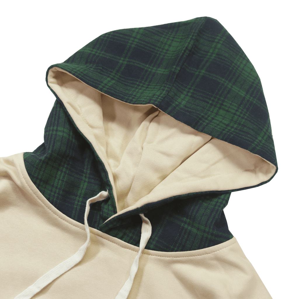 Oshin Oversized Hoodie - Sand/Green (08.20.20 Release)