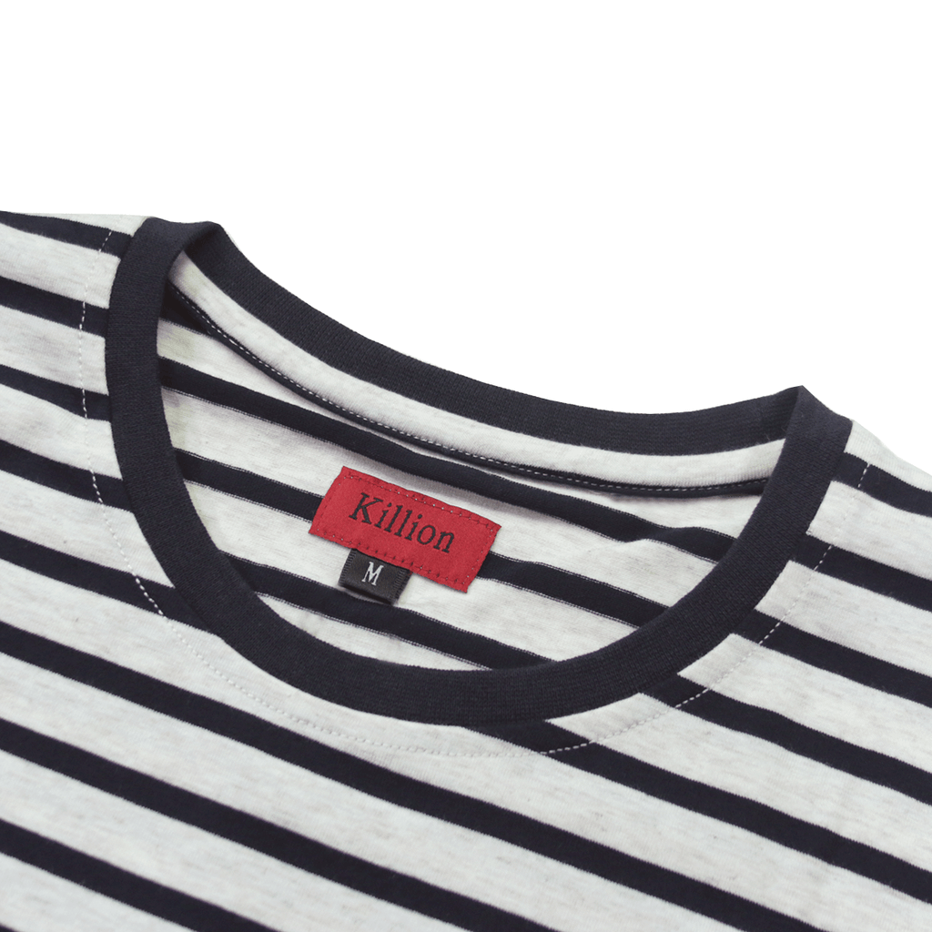 Standard Striped Essential - Cream/Navy