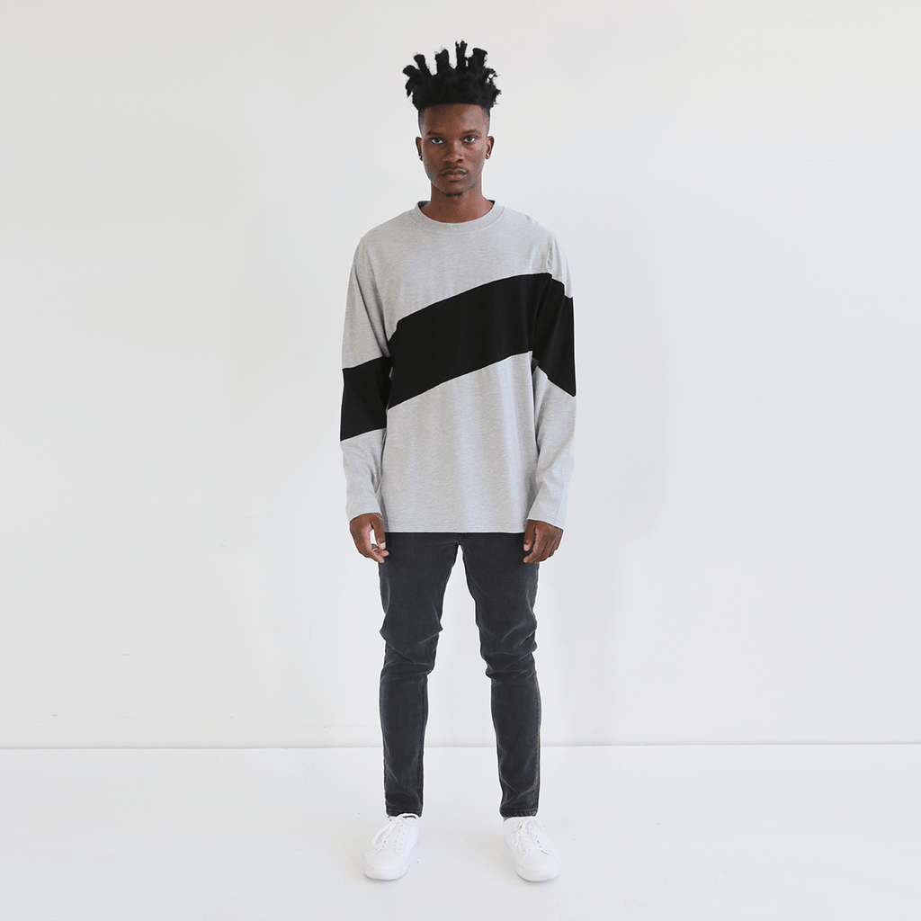 Larchmont Long Sleeve - Heather Grey