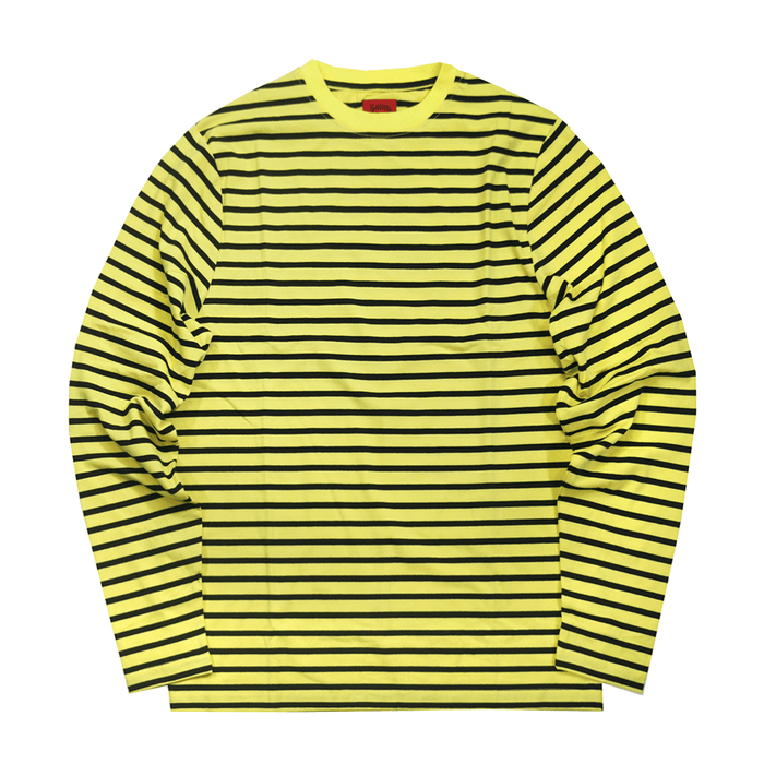 Standard Striped L/S Essential - Navy/Yellow (09.01.20 Release)